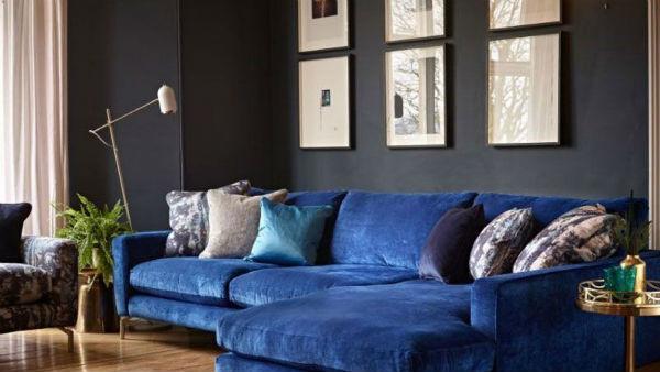Xu hướng sofa bọc nhung ngày càng được ưa chuộng