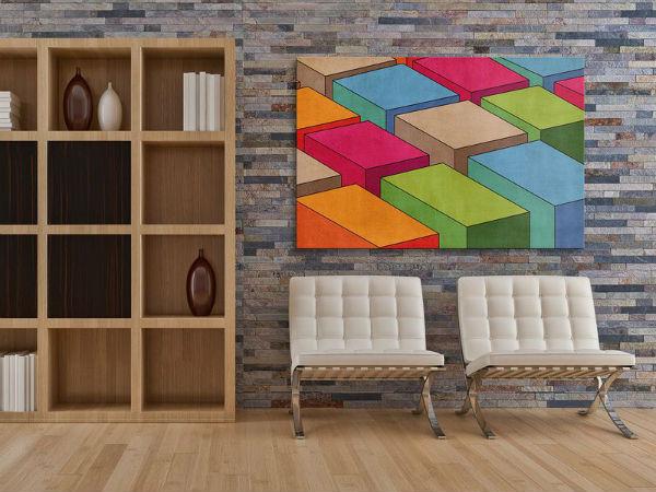 Trang trí nhà bằng các thiết kế họa tiết hình học độc lạ