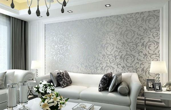 Sử dụng giấy dán tường trang trí tạo nên một không gian mới