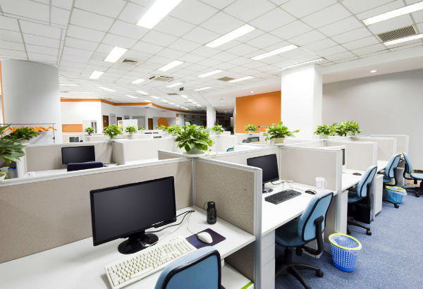 Thiết kế văn phòng theo không gian mở