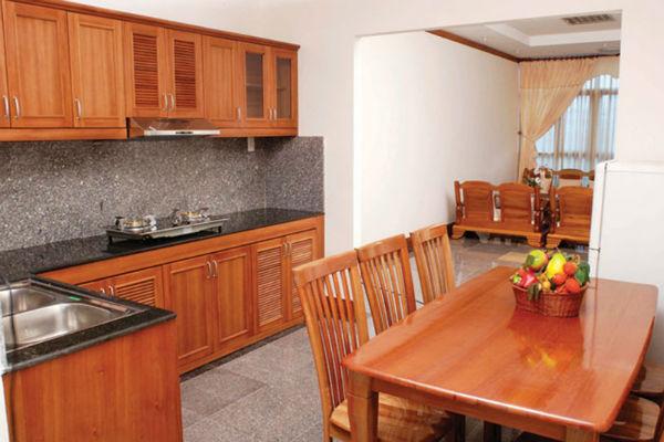 Trang trí phòng bếp đơn giản