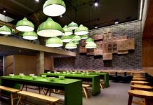 Trang trí nội thất nhà hàng