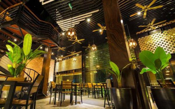 Trang trí nội thất nhà hàng phong cách đồng quê