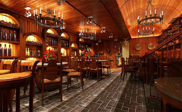 Trang trí nội thất nhà hàng phong cách Châu Âu