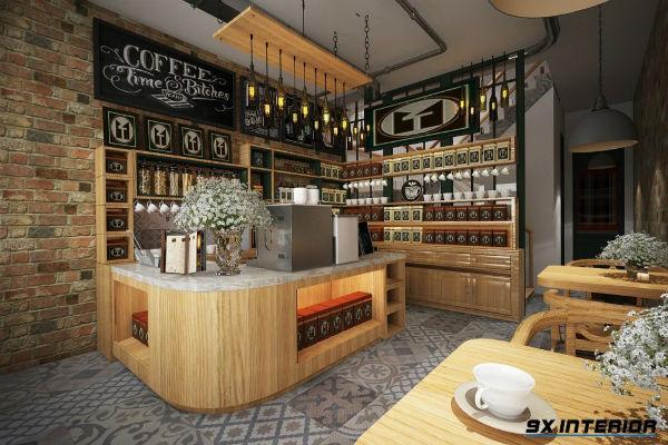 Thiết kế quầy bar ở vị trí thuận tiện
