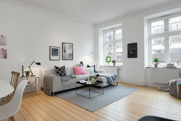 Thiết kế nội thất kiểu Scandinavian