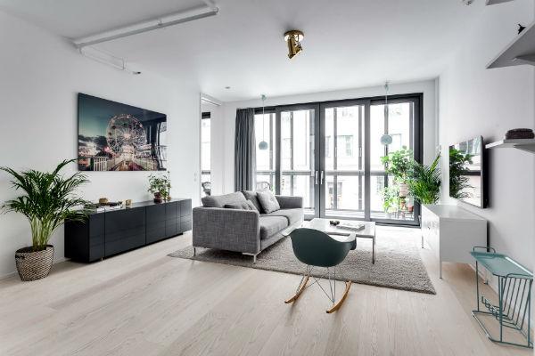 Phong cách thiết kế nội thất Bắc Âu (Scandinavia) ấn tượng trong căn hộ nhỏ