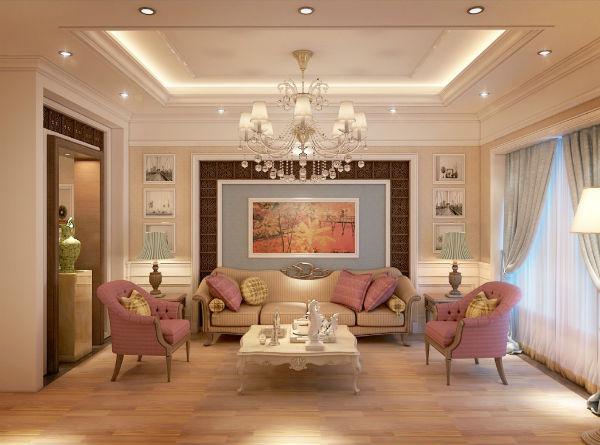 Thiết kế nội thất biệt thự kiểu Pháp sang trọng và đẳng cấp
