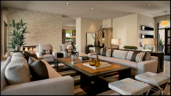 Phòng khách được xem là bộ mặt của ngôi nhà