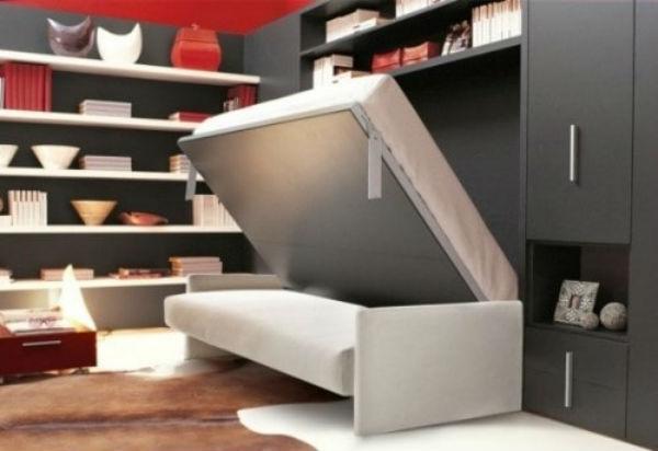 Sử dụng, bố trí tủ âm và bộ sofa cho ngôi nhà