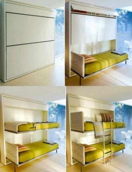 Sử dụng giường ngủ thông minh để tiết kiệm diện tích