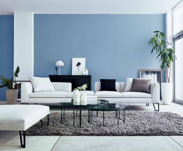 Sơn tường màu sáng tạo cảm giác không gian rộng hơn