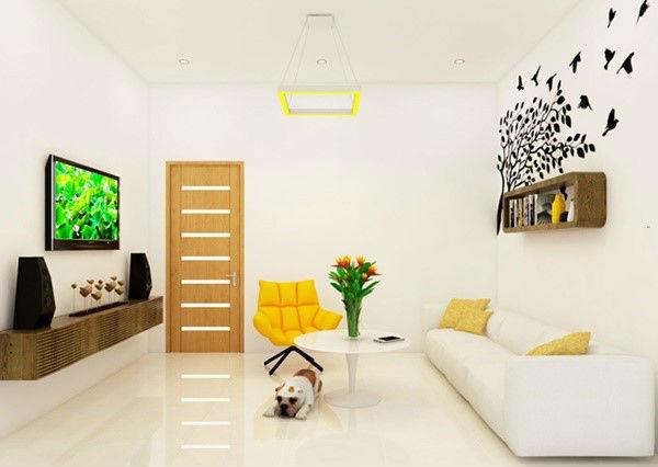 Những màu sắc nhẹ giúp không gian nhà đẹp trở nên mềm mại