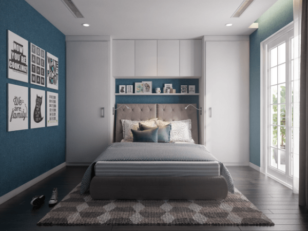 Các thiết kế tủ đầu giường chính là lựa chọn thông minh