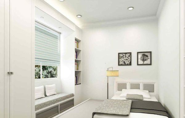 Trang trí nội thất phòng ngủ nhỏ hiện đại cho ngôi nhà
