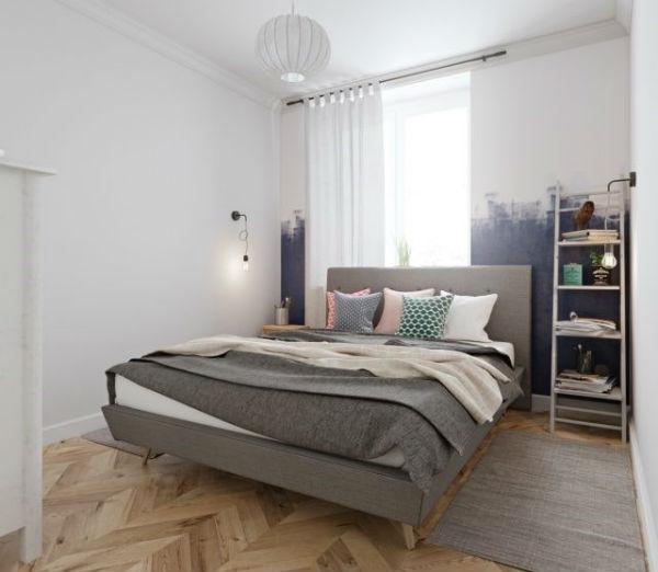Những chiếc đèn chiếu sáng có tác dụng gợi mở không gian tuyệt vời cho phòng ngủ