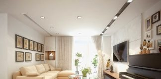 Nội thất chung cư hai phòng ngủ