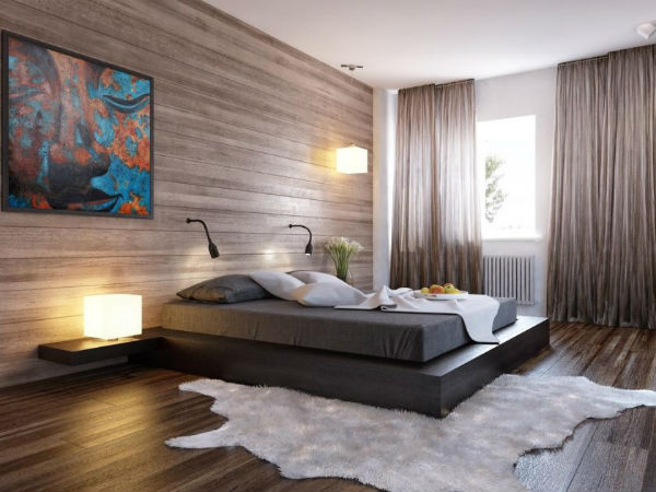 Phòng ngủ phong cách Châu Âu sang trọng nhưng không kém phần ấm áp