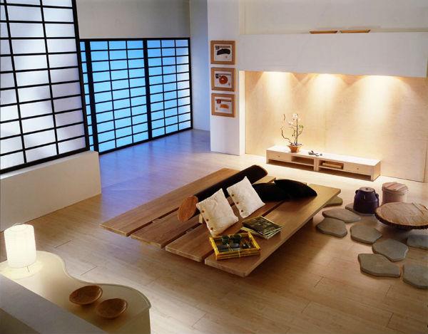Tinh tế với nội thất Zen Nhật Bản