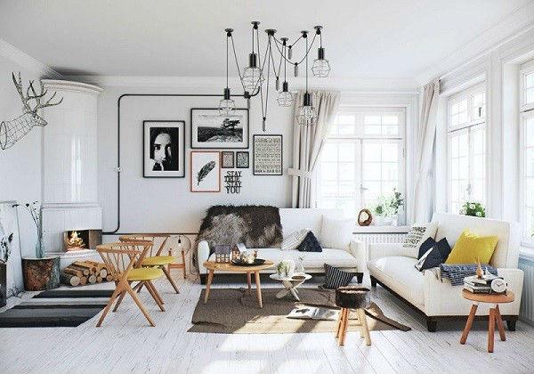 Thiết kế nội thất phong cách Bắc Âu được ưa chuộng hiện nay