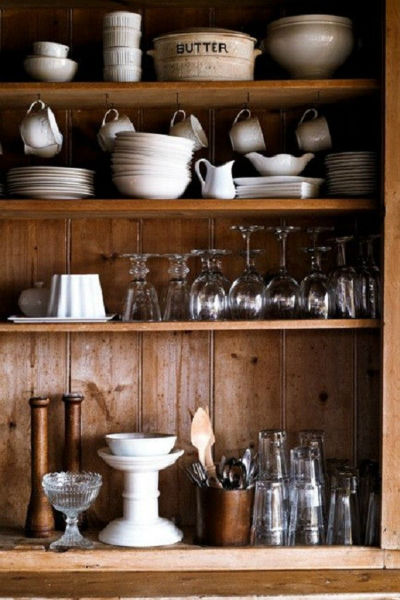 Một góc lưu trữ mang phong cách Scandinavia