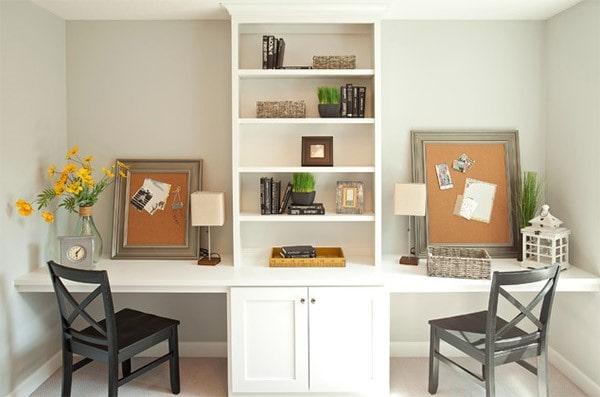 Thiết kế văn phòng làm việc tại nhà đơn giản nhất có thể