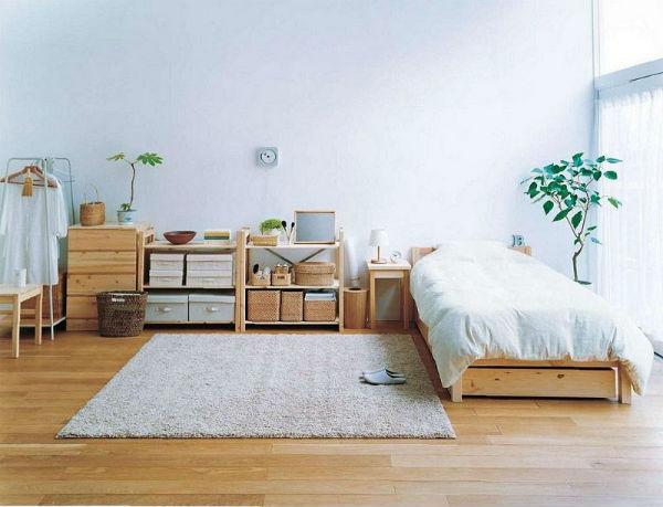 Một thiết kế phòng ngủ có giường theo phong cách Hàn Quốc