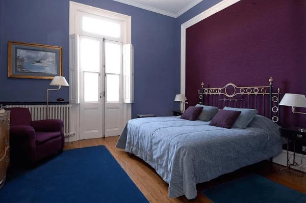 Trang trí tường bằng màu sắc theo sở thích hoặc phong cách trang trí