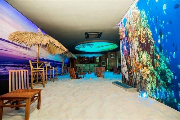 Mô hình quán cafe bãi biển