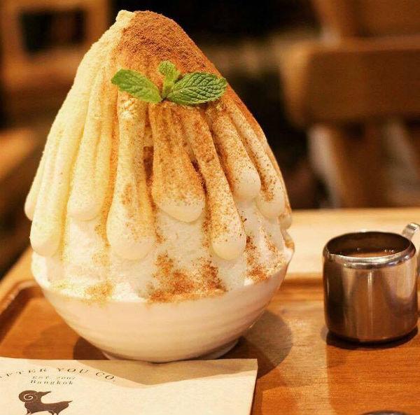 Bingsu trà sữa một món ăn không thể không thử qua một lần