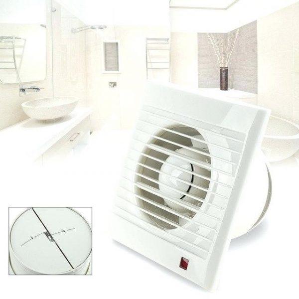 Quạt thông gió sẽ giúp nhà tắm thông thoáng hơn
