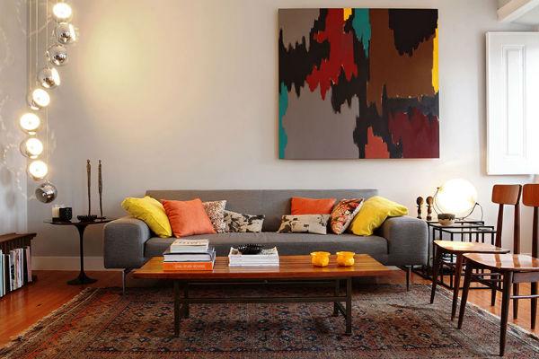 Kiểu dáng Retro mang vào các mẫu đồ nội thất với màu sắc nổi bật vào nhà bạn