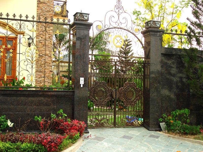 Thiết kế cổng nhà theo phong thủy