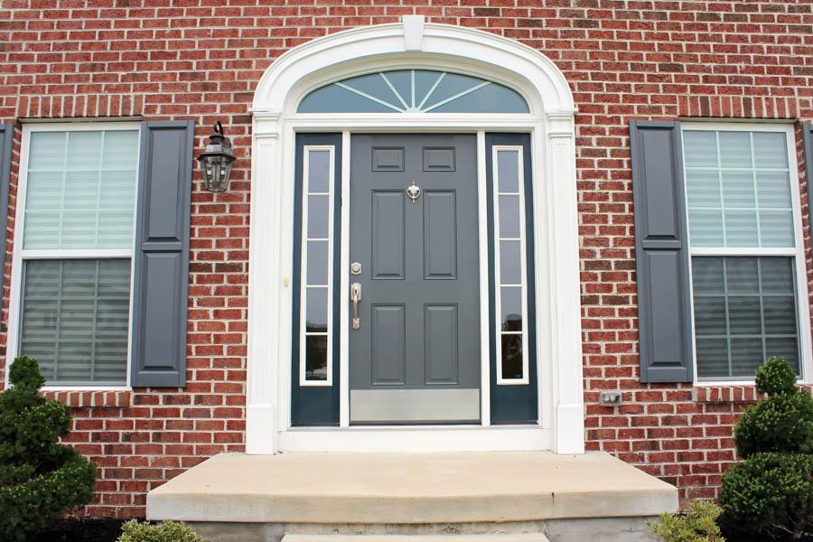Thiết kế cửa chính theo phong thủy