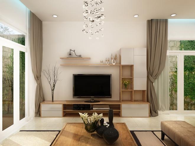 Thiết kế nội thất không gian nhà cấp 4