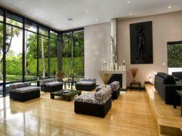 Thiết kế nội thất không gian phòng khách mở