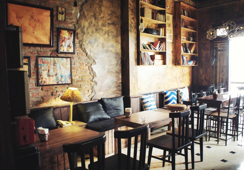 thiết kế nội thất không gian quán cafe nhỏ