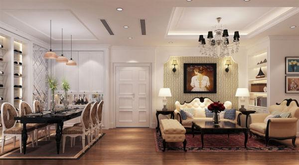 Trang trí nội thất theo phong cách châu âu