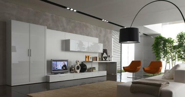 Thiết kế nội thất nhà ở theo phong cách hiện đại châu âu