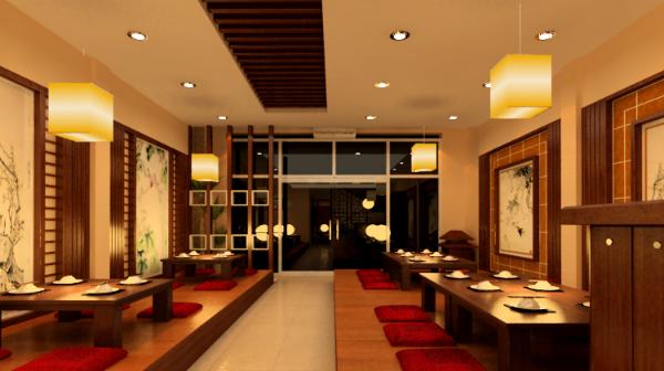 Thiết kế nhà hàng phong cách Hàn Quốc