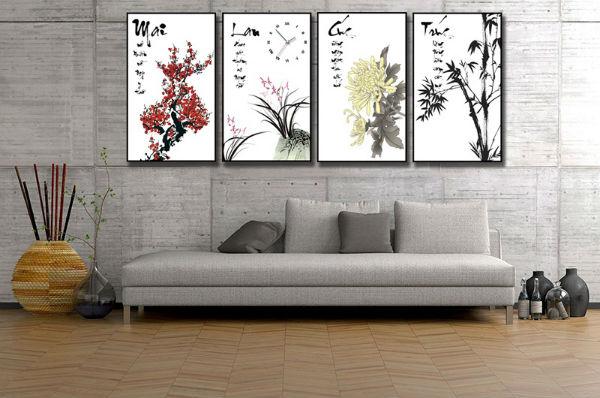 Trang trí nhà bằng tranh treo tường